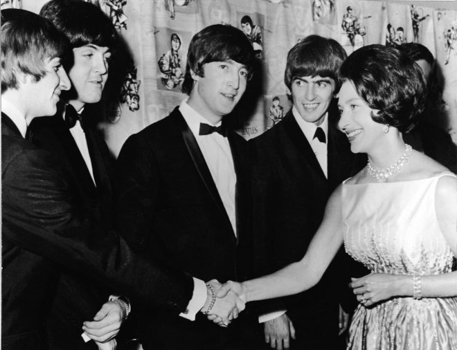 Beatles-Princess-Margaret