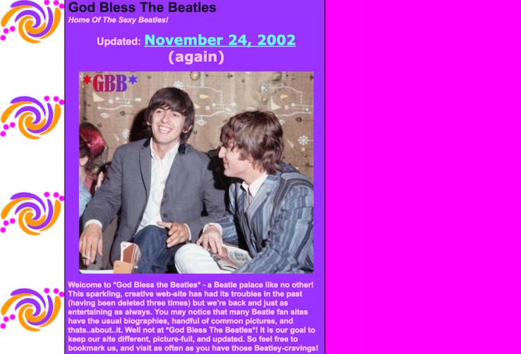 GBB homepage